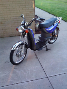 400$ As is Canada volts 60volt ebike four bills asking price