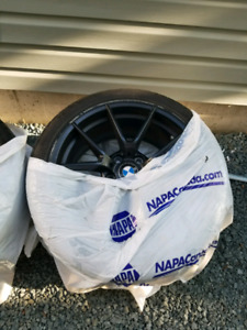225 45 18 tire and rim bmw