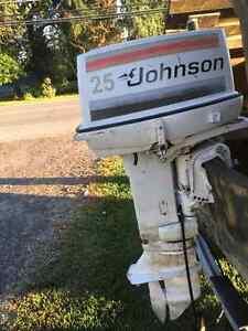 Moteur Johnson 25 hp