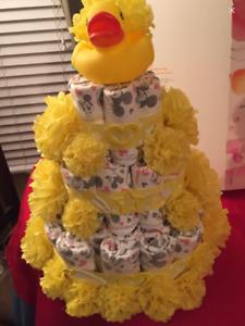 Gâteau de couches/ Diaper Cake