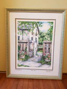 Laura Berry 'Hidden Retreat' (tags: art painting print framed)