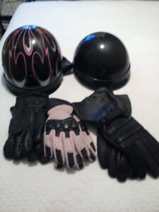 Men and womans chaps and helmets, gloves for sale