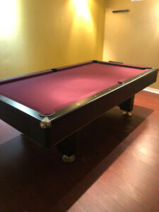 Custom - Mr Billiard Slate Pool Table - Plus all extras