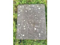Concrete flagstones