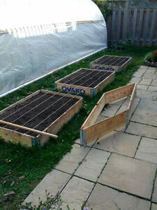 garden boxes-Planter boxes for raised garden