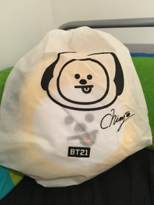 Chimmy & Cooky Large Cushion Plush (sealed) - bought at STC