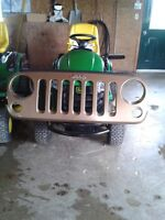 NEW GRILL FOR 2015 JEEP SAHARA