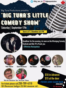 Comedy show in duncan!!