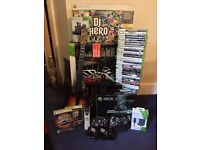Xbox 360 250 GB limited edition modern warfare 2 , Kinect, accessories & huge game bundle