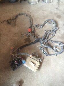 Chevy wire harness