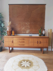 Mid century Beautility teak sideboard Scandinavian style