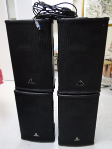 Set of Four Speakers