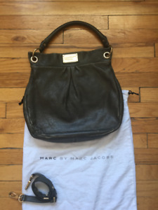 Marc by Marc Jacobs Classic Q Hillier Hobo Purse - Newsprint
