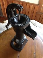 Antique water pump for well