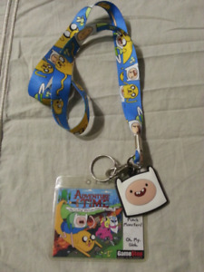 Adventure Time Collectibles - Button, Watch and Lanyards