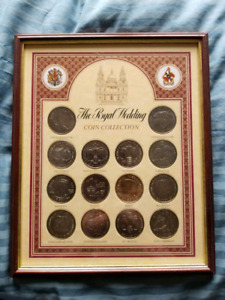 Royal Wedding Coin Collection - 1981,  Princess Diana