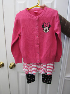 Disney Outfit, girls size 5, 3-pieces, BNWT