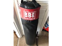 Punch bag & hanging bracket