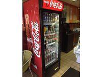 Coca Cola Chilled display fridge LED Lights