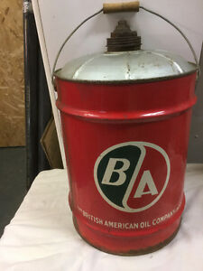 BA Gas/Oil Can