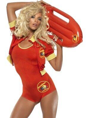 Smi - Karneval Damen Kostüm Baywatch Badeanzug - Baywatch Rettungsschwimmer Kostüm Damen