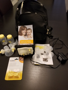 Medela double electric breast pump - excellent used condition