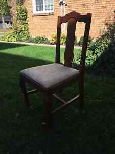 Four Dining Room Chairs for Sale