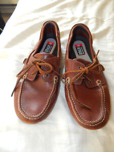 Marks and Spencer brown leather mens shoes