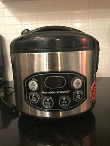 Hamilton Beach Rice Cooker 12 Cup for Sale - $30