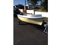 12 ft Tod Boat + Trailer And Outboard