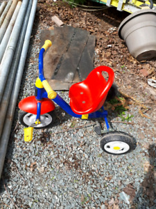 Push tricycle. Toddler bike