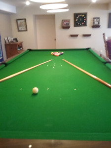 Table de billard  10 par 5 Brunswick