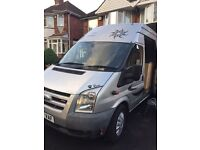 Ford transit 2 berth campervan / motorhome with fixed bed
