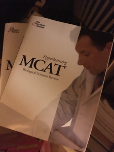 Selling MCAT books