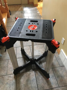 Black & Decker Foldable Work Table