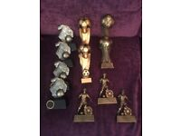 **NEW** Football Trophies (11) - Boxed