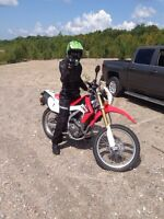Wanted enduro dual sport motorcycle