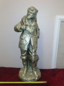 Vintage plaster statue -Rare and Beautiful