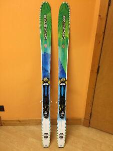 2014 Dynastar Cham 107 Skis + Touring Bindings