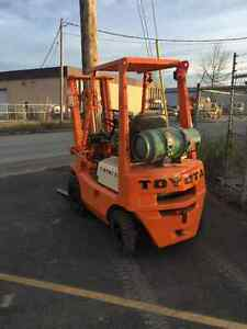 1975 Toyota Forklift Prince George British Columbia image 1