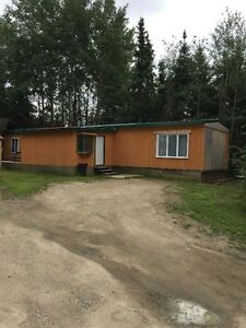 A Nice Three bedroom Mobile home for rent in Air Ronge Sk.