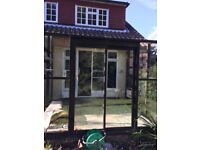 Aluminium Conservatory Lean To Free to Collector 8ft x 10ft