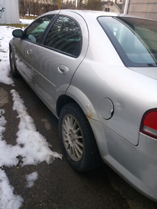 2006 Chrysler Sebring touring. As is