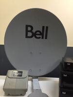 Bell Satellite with 3 Receivers