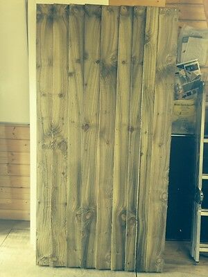 Wooden Feather Edge Gate (Pressure Treated Heavy Duty)
