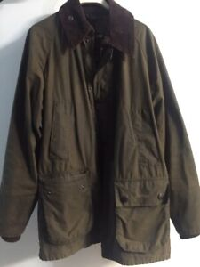 Barbour Bedale size 34 S Sylkoil
