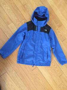 Boy's The North Face Reflective Resolve Raincoat Size 10/12