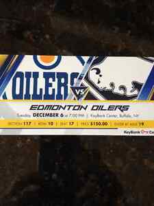 Edmonton Oilers vs Buffalo Sabres Kitchener / Waterloo Kitchener Area image 1