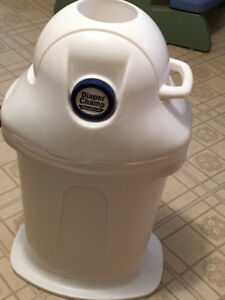 Diaper Champ Pail for cloth or disposable diapers