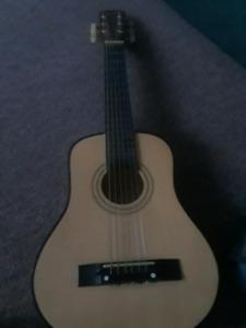 Kids vintage starter acoustic guitar